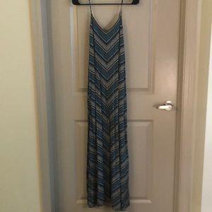 Colorful Gap Maxi Dress